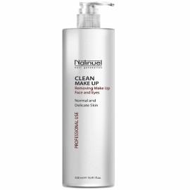 Молочко для удаления макияжа с лица и глаз Clean Make Up
